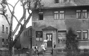 Die Bäckerei Landgraf um 1930