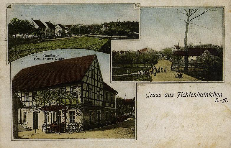 Ortszentrum Fichtenhainichen