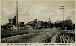 Die Grube Vorwärts um 1910