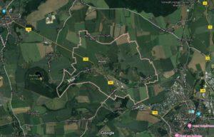 Übersichtskarte der Gemeinde Rositz