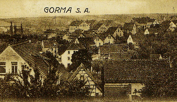 Blick vom Kiefernberg auf Gorma