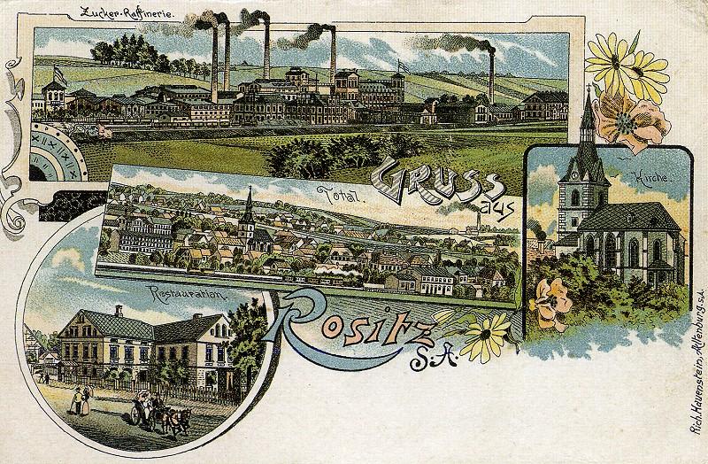 Ansichtskarte von Rositz