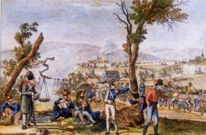 Napoleonische Truppen in Sachsen 1813