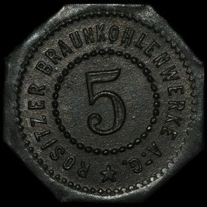 Notgeld 5 Pfennig front