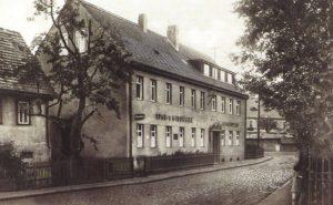 Rositzer Gemeindeamt sowie Spar- und Girokasse