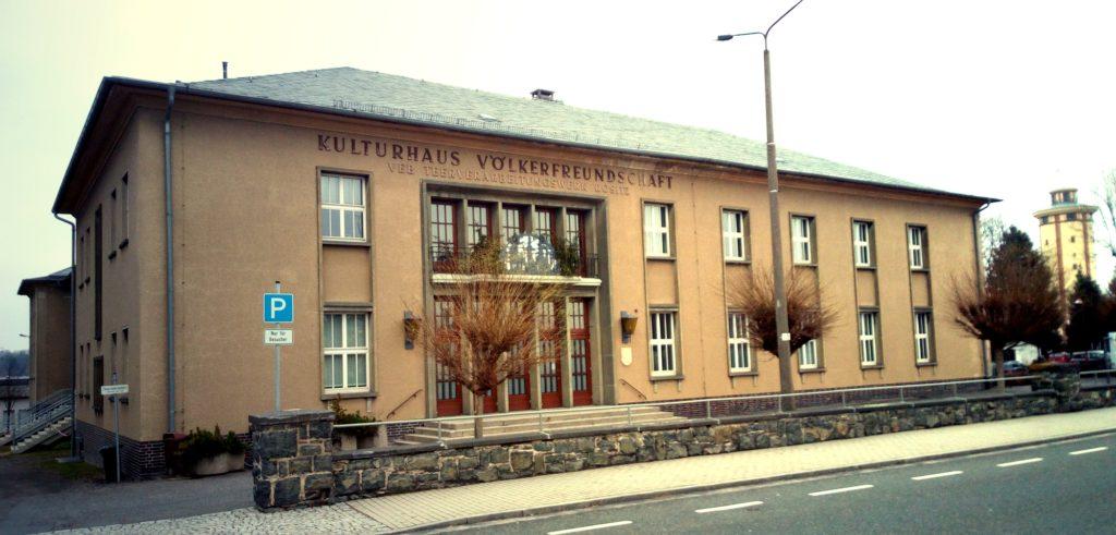 Das Rositzer Kulturhaus - Sitz der Verwaltungsgemeinschaft Rositz