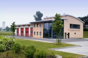 Das neue Gerätehaus der Rositzer Feuerwehr