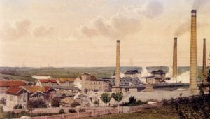Die Rositzer Zuckerraffinerie