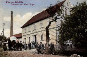 Ansichtskarte Gasthaus Schelditz