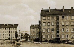 Das Schelditzer Neubaugebiet um 1962