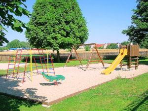 Spielplatz im Freibad Schelditz