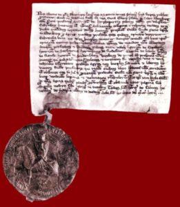 Urkunde von 1273