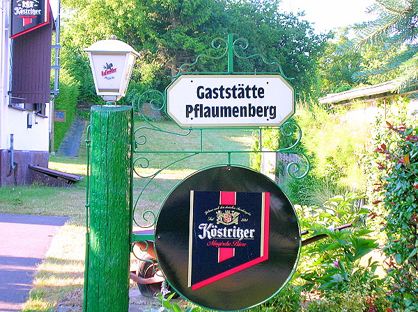 Gaststätte Pflaumenberg Rositz
