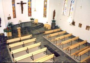 Inneransicht der katholischen Kirche