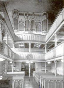 Orgelchor mit Doppelemporen