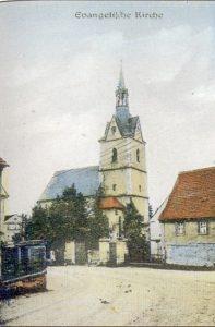 Die Evangelische Kirche in Rositz