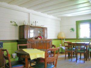 Die Bohlenstube im Bernsteinhof