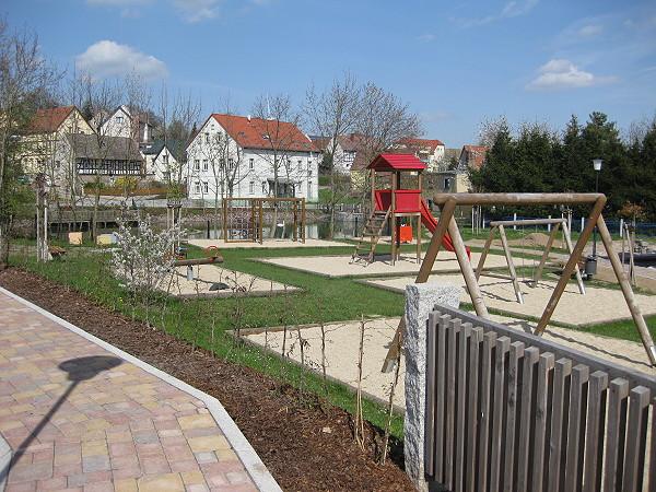 Kinderspielplatz in Gorma