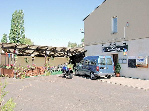 die Gaststätte in Molbitz