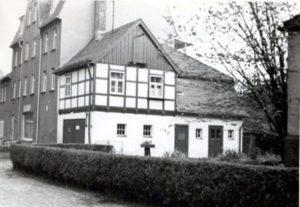Die Gemeindegarage im Jahr 1974