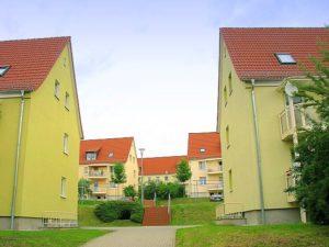 Wohnungen in der ''DEA-Siedlung''