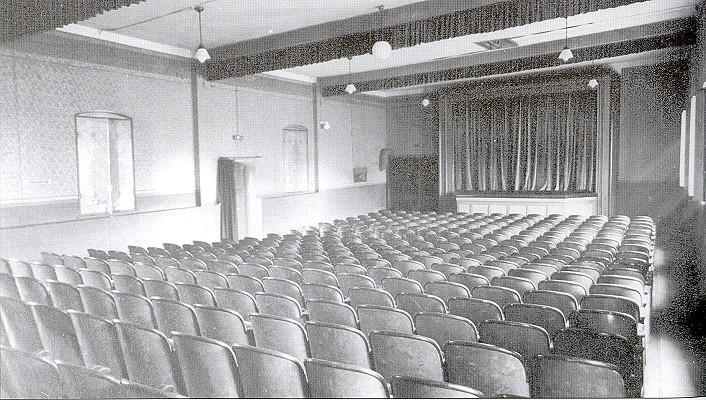 Kinosaal in Rositz