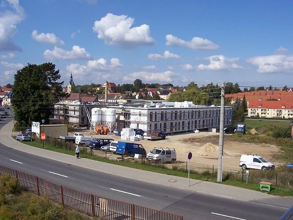 Neubau des Altenheimes