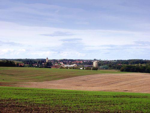 Panorama von Rositz