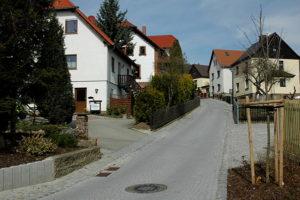 Die Berggasse in Rositz