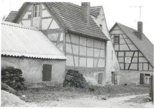 Das Wohnhaus von Fam. Simmert