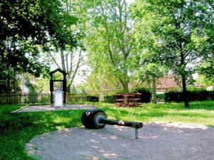 Der Kinderspielplatz in Molbitz