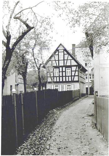 Das Wohnhaus der Fam. Bachmann