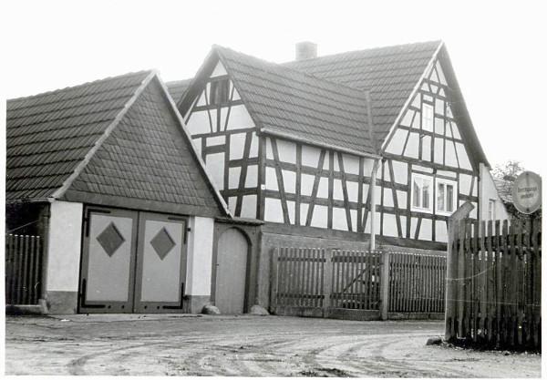 Das Wohnhaus der Fam. Rudi Heilmann